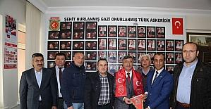 Başkan Akdoğan, şehit yakınları ve gazilerle bir araya geldi