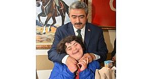 Başkan Alıcık, Down sendromlu çocuklarla buluştu