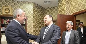 Başkan Baran, dernek başkanları ve yönetimlerini ağırladı