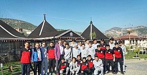 Başkan Duymuş'tan sporculara jest