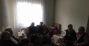 Başkan Şahin yaşlılarla buluştu