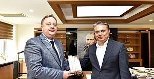 Başkan Uysal Rus Konsolos'u ağırladı