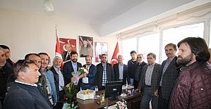 "Başkan Yavaş'tan MHP'ye ""Evet"" ziyareti"