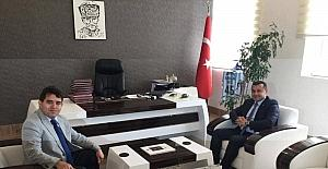 Başkan Yücel, Gazipaşa Kaymakamı Kaya'yı ziyaret etti