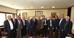 Başkan Zolan, Muhtarları kabul etti