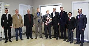 Beşir Atalay'dan Van Ticaret Borsasına ziyaret