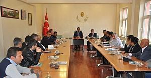 Besni'de OSB istişare toplantısı yapıldı