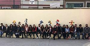 Biga Umut Işığı Topluluğu, Sakarya İlkokulu'nu renklendirdi