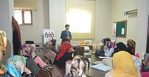 Bingöl'de kadınlara, aile hayatıyla ilgili seminer verildi