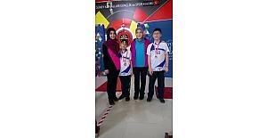 Bozüyüklü dart sporcuları turnuvadan madalya ile döndü