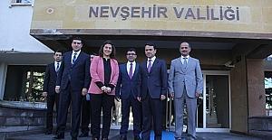 Çalışma ve Sosyal Güvenlik Bakanlığı heyeti Vali Aktaş'ı ziyaret etti