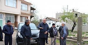 Çavuşköy Gençlik Merkezi ve Muhtarlık yapımı devam ediyor