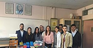 Çaycuma'dan Gürpınar'daki ilkokula büyük destek