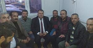 CHP İl Başkanı Karahanlı'dan esnaf ziyareti
