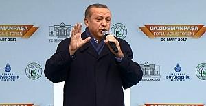 Cumhurbaşkanı Erdoğan: Faşistsiniz faşist!