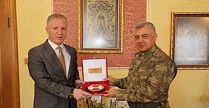 EDOK Komutanı Korgeneral Bekiroğlu'ndan Vali Gül'e ziyaret