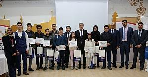 """Elazığ'da """"Al Kalemi Eline, Yaz Fikrini Şehrine"""" projesi sonuçlandı"""