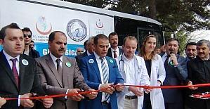 Erciş'te Mobil Sigara Bıraktırma Polikliniği hizmete girdi