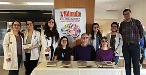"""ESOGÜ Hastanesi girişinde """"Epilepsi Farkındalık Günü"""" standı açıldı"""