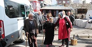 Huzurevi sakinleri 'Recep İvedik'i izledi