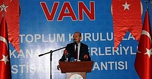 İçişleri Bakanı Soylu Vanda