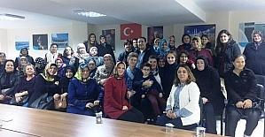 İskenderoğlu, AK Parti Kepez Belde Başkanlığını ziyaret etti