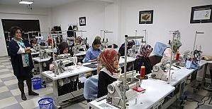 Kadınlar meslek kurslarıyla iş sahibi olacak
