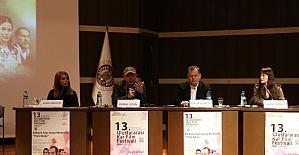 """Kar Film Festivali, """"Ankara Yazı Veda Mektubu"""" film ekibini ağırladı"""