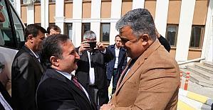 Konya Milletvekili Hacı Ahmet Özdemir'den Başkan Özgüven'e ziyaret