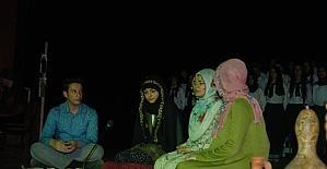 Lise öğrencilerinden 'Çanakkale' tiyatrosu