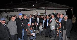 Milletvekili Salih Çetinkaya, köyünde referandumu anlattı