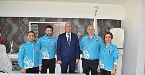 Milli Bayan Judocular, Nisan'da yapılacak olan 2 büyük organizasyona Trabzon'da hazırlanıyor