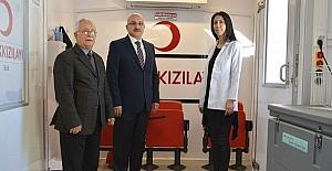 Milliği eğitim personelinden kan bağışına destek