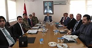 Muş'ta seçim güvenliği toplantısı