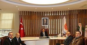 Nevşehir Barosu'ndan Rektör Bağlı'ya ziyaret