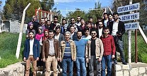 Öğrenciler Şanlıurfa'yı gezdi