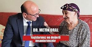 """Oral: """"Bir gün herkes yaşlanacak"""""""