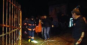 Patlama sonrası çıkan yangında bir öğretmen hayatını kaybetti