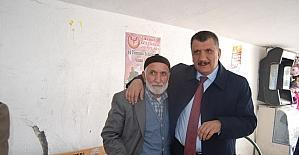 Polat ve Gürkan'dan esnaf ziyaretleri
