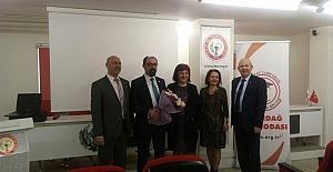 Sağlıkta Bilgilendirme Toplantılarında Akılcı İlaç Kullanımı konulu konferans ilgi gördü