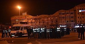 Sakarya'da gece yarısı bin polisle tatbikat yapıldı