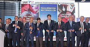 """Samsun'da """"6. İnsan Kaynakları ve İstihdam Fuarı"""" açıldı"""