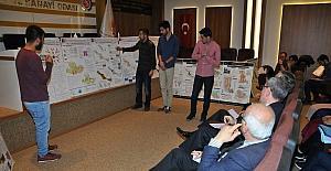 Şehir plancı adayları Samsun TSO'da