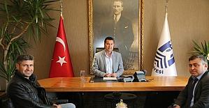 Şehit Serkan Göker İlkokulu'ndan Başkan Kocadon'a ziyaret