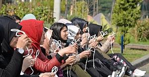 Şehitleri anmak için izci kampı düzenlendi