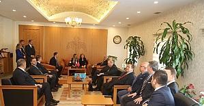 Slovakya Cumhuriyeti Büyükelçisi Anna Turenicova Vali Kamçı'yı Ziyaret Etti