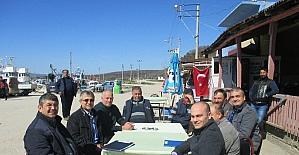 Su ürünleri kooperatiflerine bilgilendirme ziyaretleri