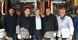Tahmazoğlu esnafla bir araya gelerek Cumhurbaşkanlığı sistemini anlattı