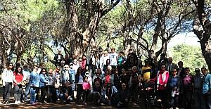 TOD Batı Akdeniz Şubesi'nden Lara kumulları ve obruk ormanına gezi