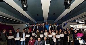 Tokatlı fotoğraf sanatçılarına sertifika